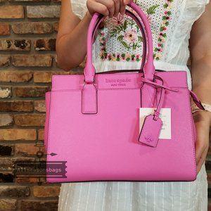 Kate Spade Cameron Medium Satchel Peony Pink